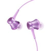 Вакуумные наушники (гарнитура) Xiaomi Mi In-Ear Headphones Basic Purple (фиолетовые) / Xiaomi Piston Basic